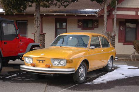 volkswagen hatchback 1970 parked cars 1973 volkswagen 412