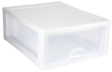 sterilite single drawer storage 6 sterilite 2301 16 quart single box modular stacking