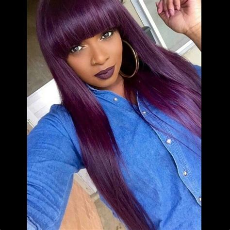 purple weave hairstyles 146 best images about colorful styles on pinterest
