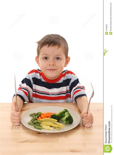 vegetables boys boy and vegetables stock photo image 3748990