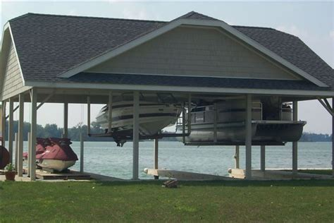 custom boat houses boathouse lifts by davit master