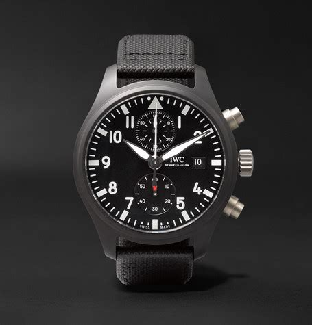Iwc Top Gun Chrono On Semua Black List iwc schaffhausen pilot s chronograph top gun 44mm