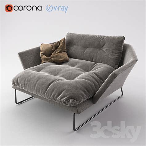 saba italia york sofa 3d models arm chair saba italia york suite chair