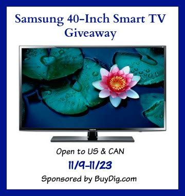 Samsung Tv Giveaway - samsung 40 inch smart tv giveaway the denver housewife