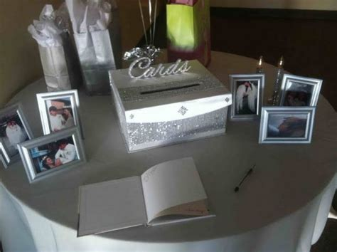 25th Wedding Anniversary Reception Ideas by Cardbox For My 25th Anniversary Weddingbee Photo