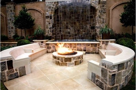 backyard with pit landscaping ideas garden design 12558 garden inspiration ideas