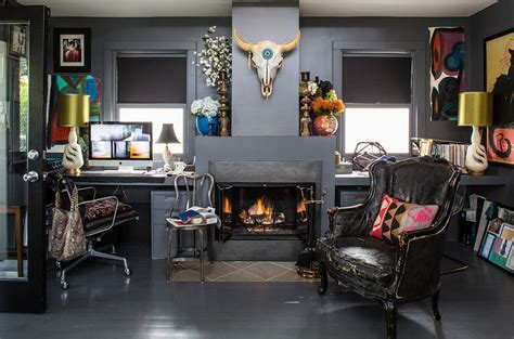 Home Office Ideas Eclectic How To Create A Colorful And Eclectic Home Office
