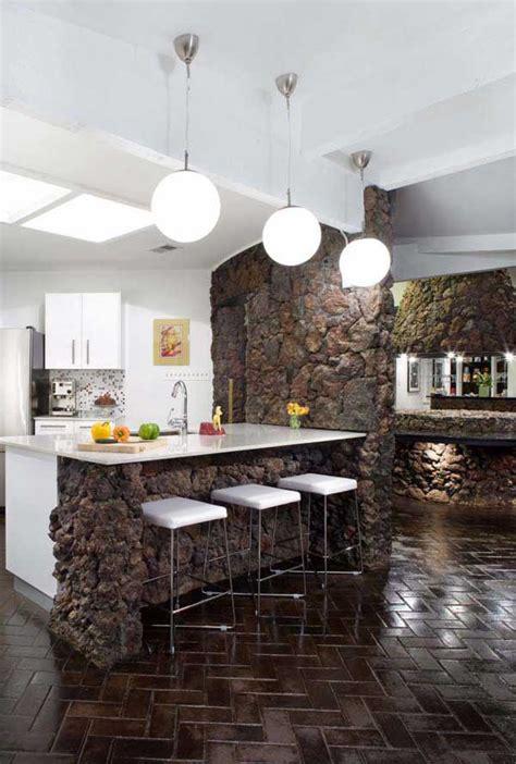 stone kitchen design 22 stunning stone kitchen ideas bring natural feel into