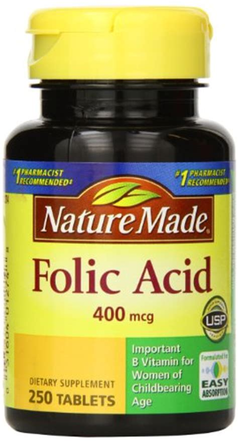 Mcg For Methhet Detox Of Folate Supplements by Nature Made Folic Acid 400mcg 250 Tablets In The Uae See