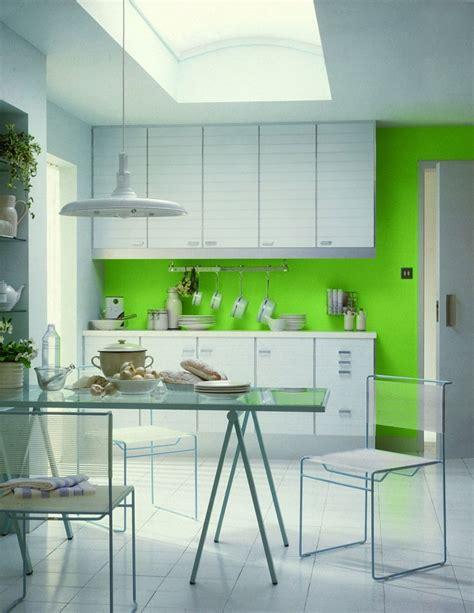 Cuisine Mur Vert by Cuisine Verte 60 Photos Et Conseils D 233 Co Pour Une Cuisine