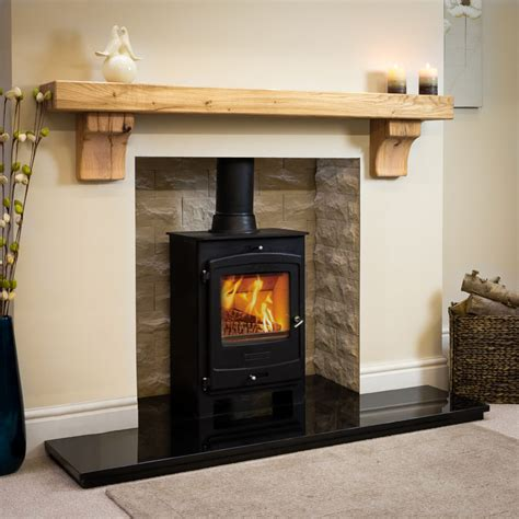 Rustic Fireplace Mantel Corbels Rustic Arched Oak Beam Fireplace Oakfiresurrounds Co Uk