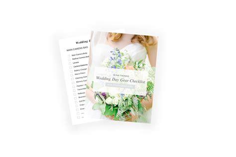 Wedding Gear Checklist by Brownie Baked Inside An Eggshell Virginia Wedding