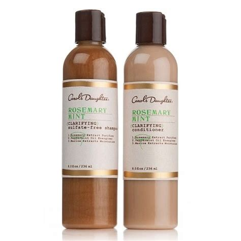 best hair products for african american hair carol s daughter rosemary and mint purifying duo 7 best