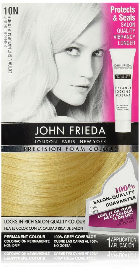 frieda 10b light beige precision foam colour hair color dye what s it worth frieda precision foam colour light beige 10b chemical hair
