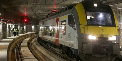 Garage Libre Service Belgique by Le Tunnel Ferroviaire Schuman Josaphat Sera Mis En Service