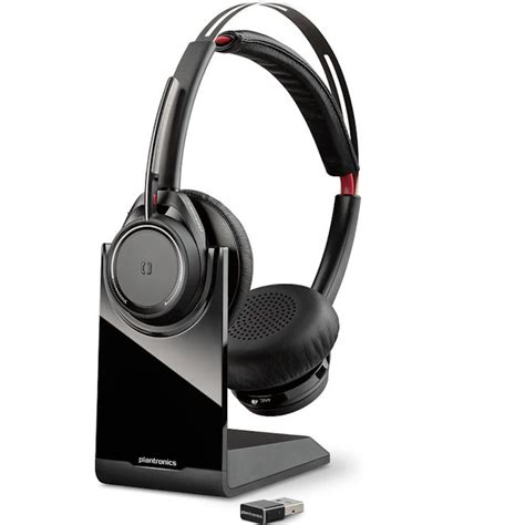 Philips Shm7410u Pc Headset Gaming Chat Entertainment plantronics b825 202652 01 voyager focus uc stereo bluetooth headset with active noise