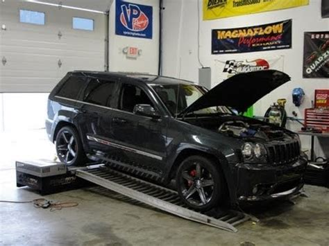 jeep srt8 on dyno youtube
