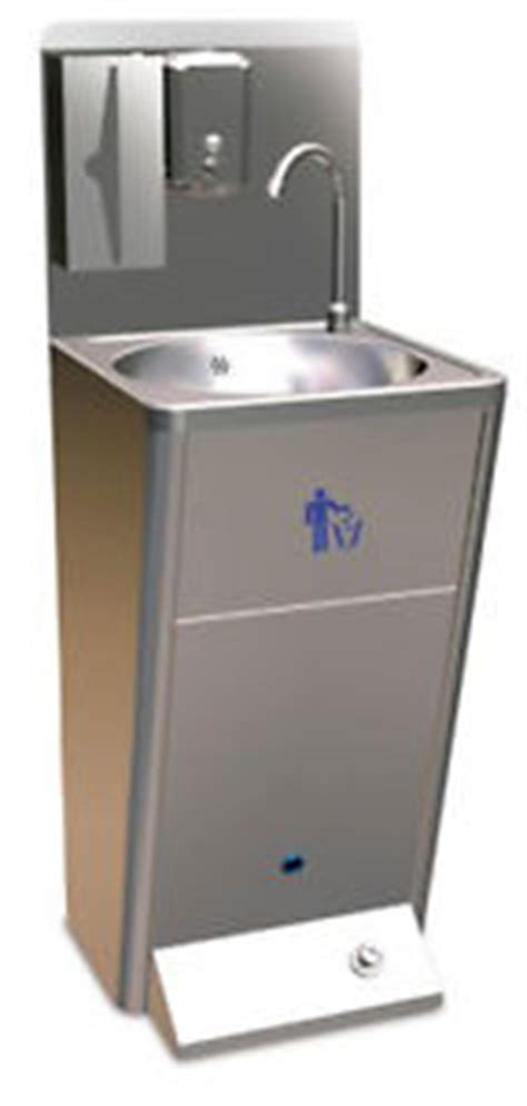 amazon com aero stainless steel foot pedal opertaed pedestal sinks foot operated stainless steel hand basin