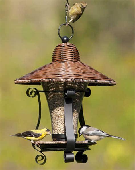 Wicker Bird Feeder Duncraft Wicker Lantern Feeder