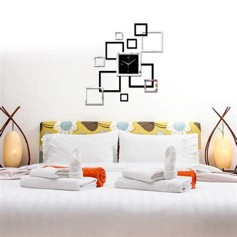 Square Living Room Clocks 2017 Living Room Wall ᗗ Clock Clock Horloge