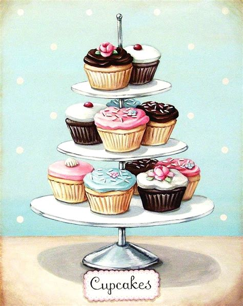 kitchen accessories cupcake design vintage bakery on pinterest cupcake kitchen decor