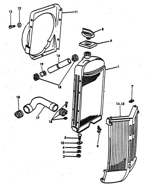 8n ford tractor parts diagram radiator parts for ford 8n tractors 1947 1952