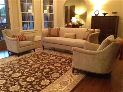 Hickory Chair Jules Sofa by Hickory Chair Jules Chairs Floating In A Room With Elinor
