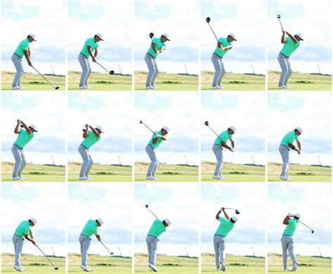 golf driver swing koepka swing sequence of the us open chion