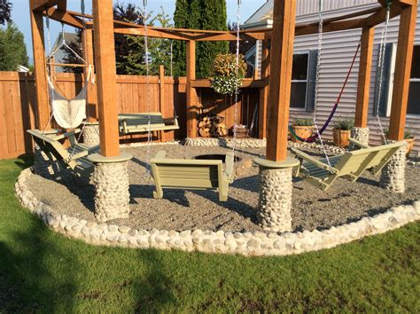 Beautiful Porch Fire Pit Porch Swings Fire Pit Circle