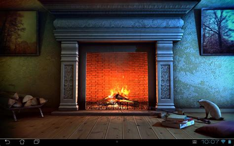 fireplace 3d free lwp android apps on play