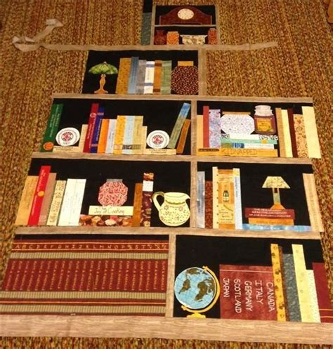 library book quilt for the home pinterest 22 best images about quilts library bookshelf on pinterest