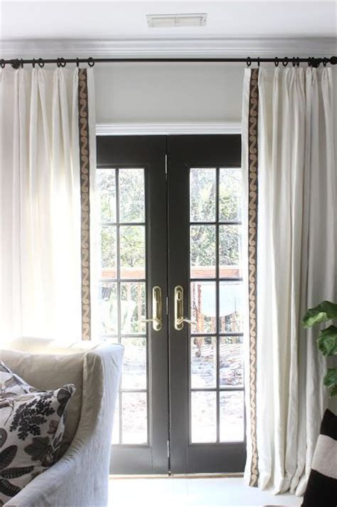 black french door curtains 422 best window treatments images on pinterest lower