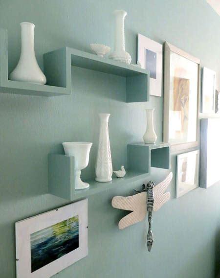 Home Accent Decor es tendencia en decoraci 243 n estanter 237 as y pared del mismo