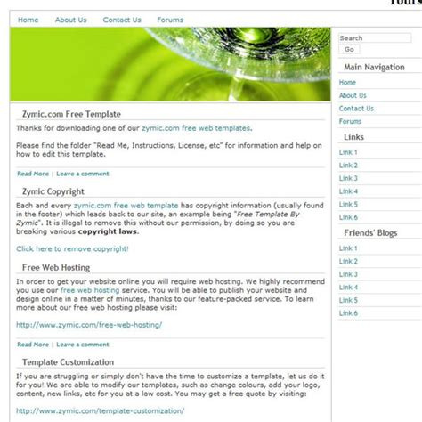 basic dreamweaver templates best free dreamweaver templates for artists
