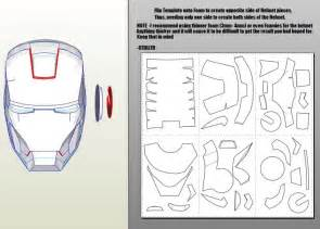 iron man mark 4 6 pepakura foam templates video tutorial