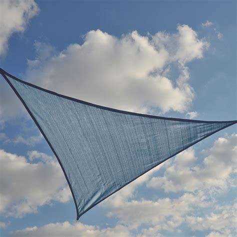 triangle sail sun shade sun shade sail triangle sea blue shade cloth and sails greenhouse megastore