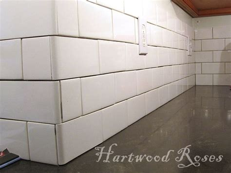 Subway Tile Ideas Bathroom Tile Every Other Bullnose To Alternating Directions
