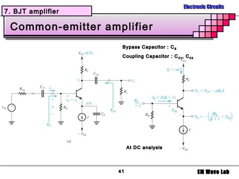 transistor lifier bypass capacitor bypass capacitor in bjt 28 images ee3110 exle on frequency response of bjt lifier due to