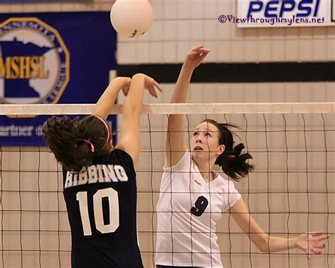 section v volleyball the view through my lens esko hibbing dominate 7aa