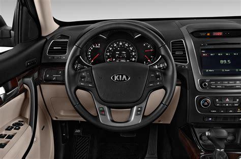 kia steering wheel 2016 kia sorento interior teased ahead of korean premiere