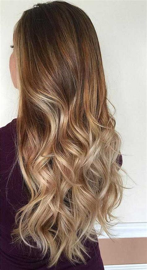 pictures of brown and blode ombre hair 20 best ombre hair colours long hairstyles 2016 2017