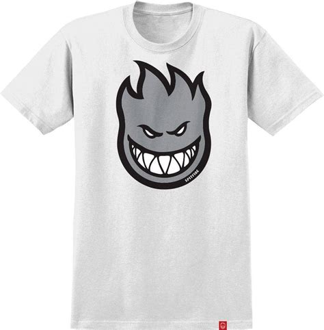 Premium Tshirt Spitfire 8 spitfire wheels bighead white skateboard t shirt skatewarehouse co uk