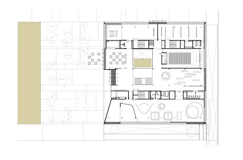 are house floor plans public record girona public library corea moran arquitectura archdaily