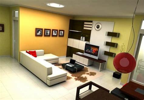 Tv Kecil desain ruang keluarga minimalis simemet