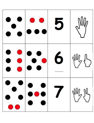dot pattern test chart 45 best subitizing images on pinterest early years maths