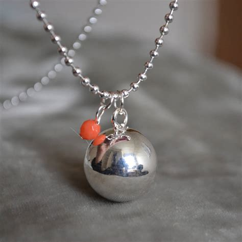 Special Bola Natal Mix Isi 12 Silver 4 Cm Aksesoris Natal Ornamen Na harmony pregnancy necklace with coral pearl by the karma shop notonthehighstreet