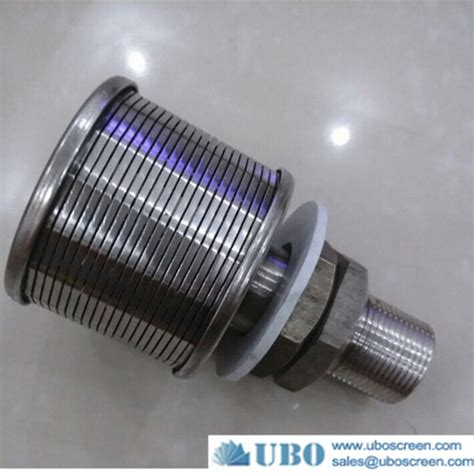 Nozzle Water Screen screen nozzle water filter welded wedge wire wedge wire slot v wire wrap screen wire wrapped