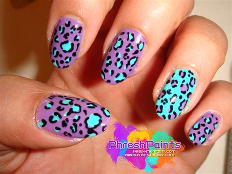 leopard pattern nail art animal print nail art ideas vol 1 metheromantic blog
