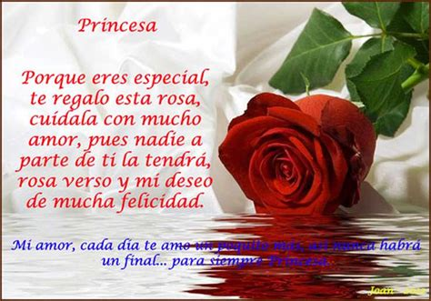 poema de princesa corto porque tu eres especial para mi poemas de amor