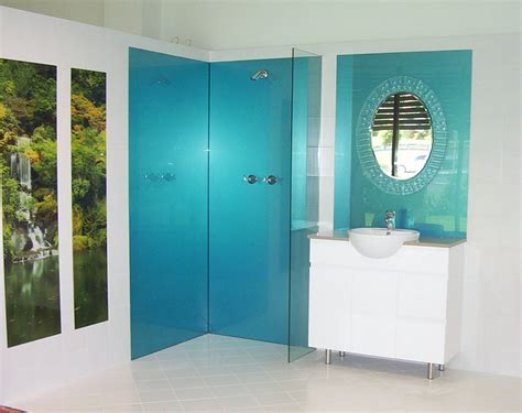 Acrylic Splashbacks For Showers And Bathrooms Splashback Ideas For Bathrooms